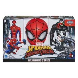 Spider-Man Maximum Venom Titan Hero Spider-Man Vs. Venom