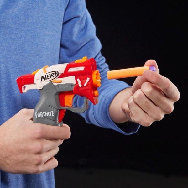 مسدس نيرف فورت نايت صغير