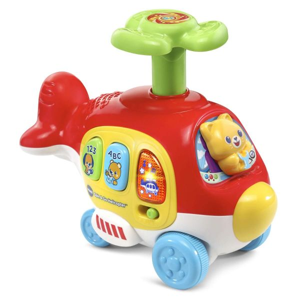 Push & Spin Helicopter