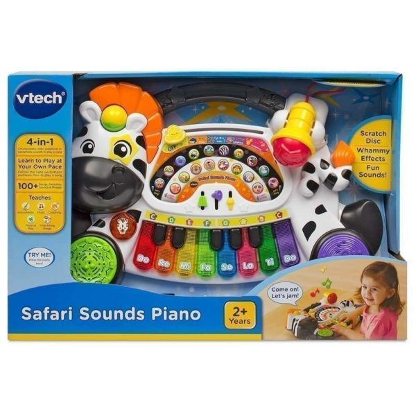 safari sounds piano