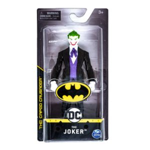 15 cm The Joker Action Figure black spin master