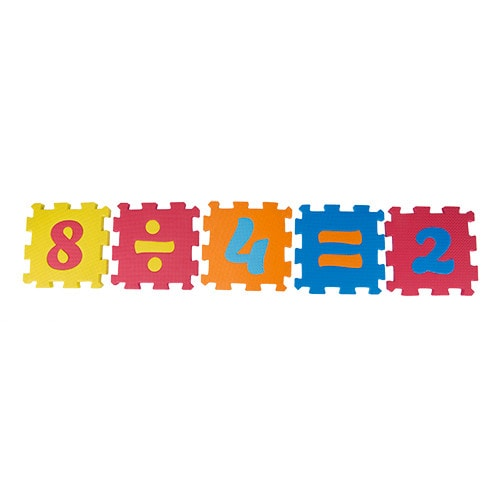 numbers playmat for kids fluffy bear
