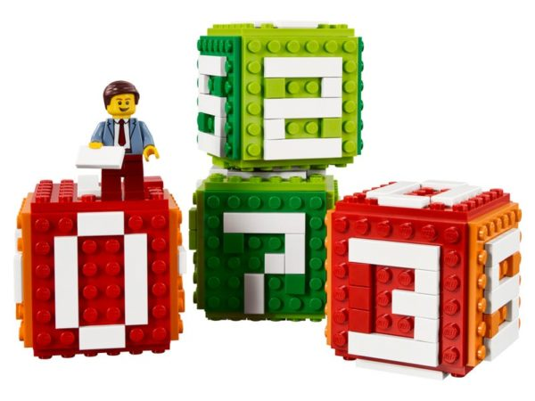 lego iconic brick calendar