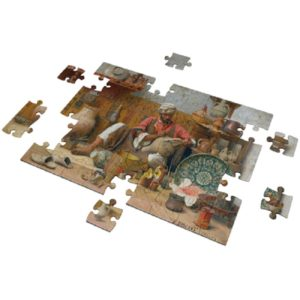The Pottery Studio  puzzle 500 pieces - Fluffy Bear