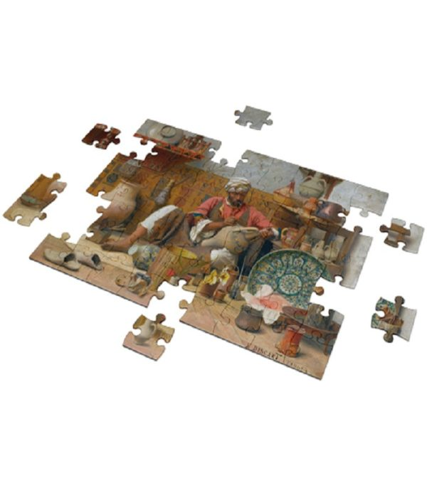 the pottery studio puzzle 500 pieces – fluffy bear