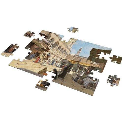 Arabic Market in Qalawun puzzle 500 pieces - Fluffy Bear