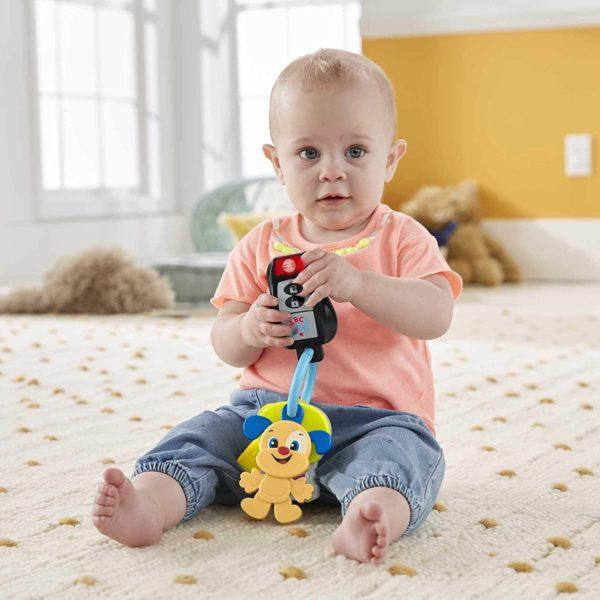 لعبة سلسلة مفاتيح موسيقية للأطفال الرضع من فيشر برايس