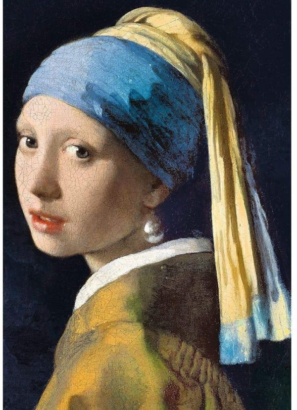 jigsaw puzzle girl with a pearl earring 1000 piece trefl