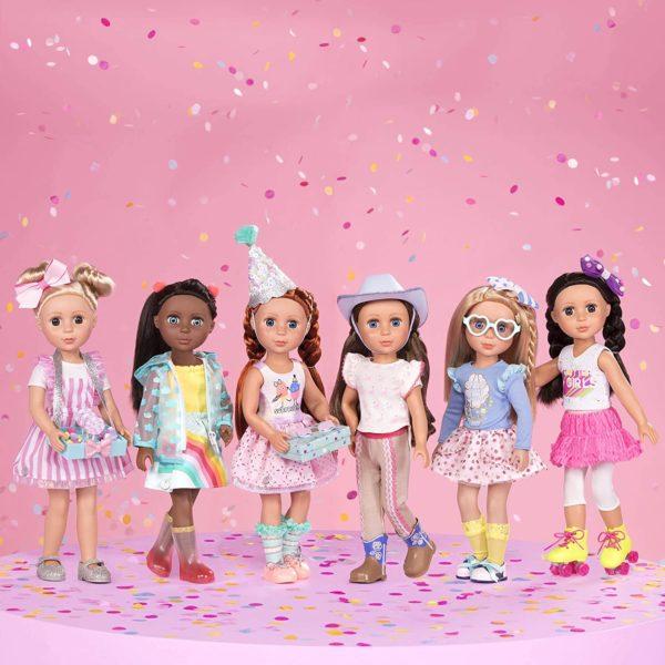 Doll by Battat - Lacy Fashion Glitter Girls