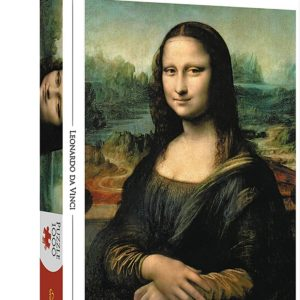 Art Collection. Mona Lisa Puzzle 1000 pieces Trefl