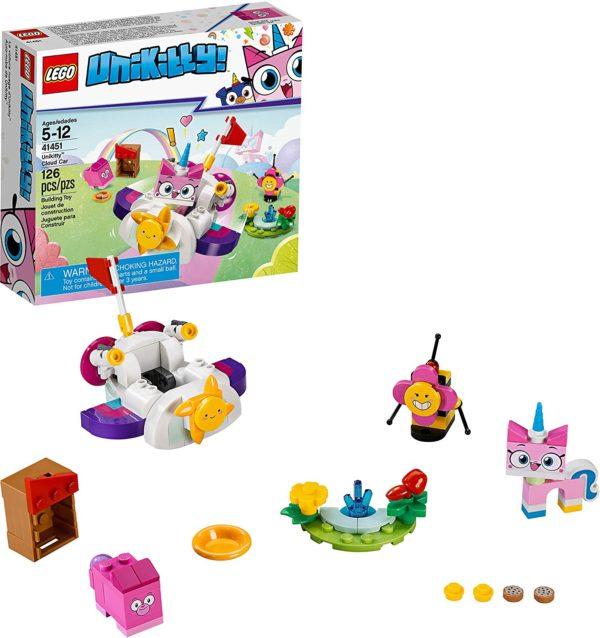 lego unikitty! unikitty cloud car 41451 building kit (126 pieces)