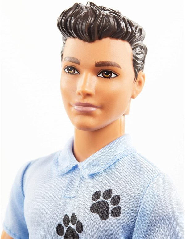 ken dog trainer playset with doll and accessories barbie