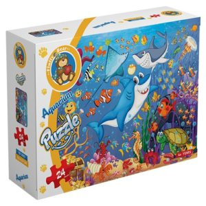 Aquarium – puzzle 24 pieces - Fluffy Bear