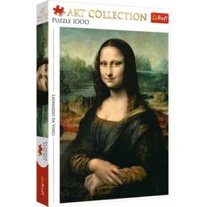 Art Collection. Mona Lisa Puzzle 1000 pieces Trefl