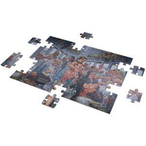 Bab El Hadid – Egyptian Art puzzle 1000 pieces - Fluffy Bear