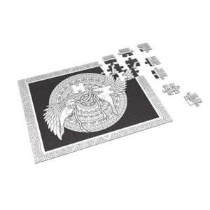 Birds – Coloring Puzzle 60 pieces - Fluffy Bear
