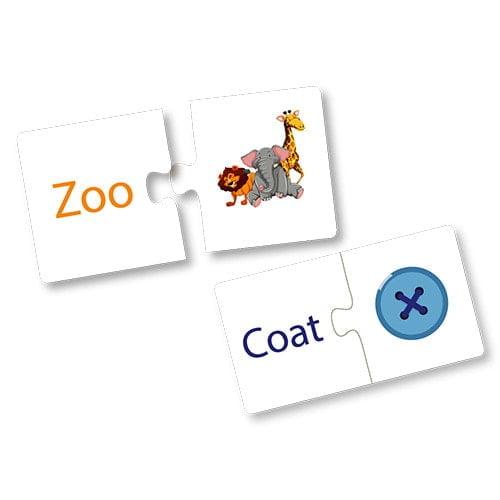 Level 1 – Reading CVC Words 27 Sturdy Cards size 14x9 cm - Fluffy Bear