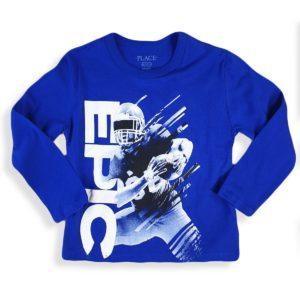 Children place Epic T-Shirt Blue