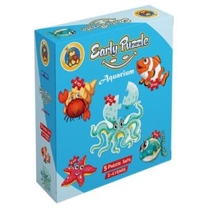 Early Aquarium 5 puzzle Sets - Fluffy Bear