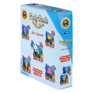 Early Sea World 5 puzzle Sets - Fluffy Bear