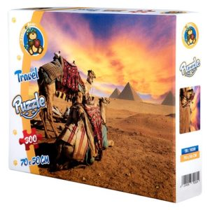 Egypt Travel puzzle 300 pieces - Fluffy Bear