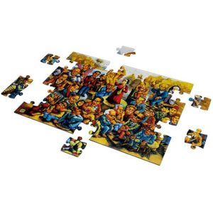 100 Years of Enlightenment – Salah Enani  puzzle 500 pieces - Fluffy Bear