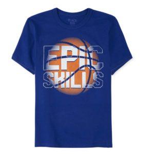 Epic-T-Shirt Blue Children place