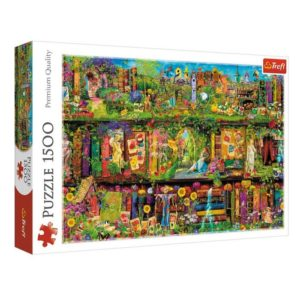 Fairy Bookcase 1500 pieces puzzle Trefl