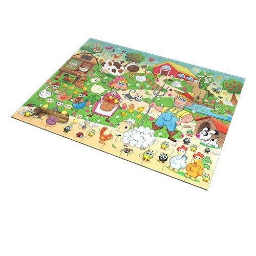 farm – puzzle 24 pieces – fluffy bear