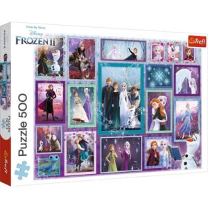 Frozen II 500 pieces puzzle Trefl