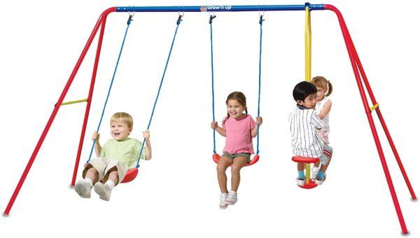Heracles Triple Swing Set