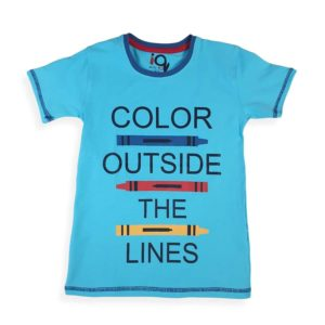 IQ Color Outside Shirt Baby Blue