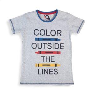 IQ Color Outside Shirt Light Gray
