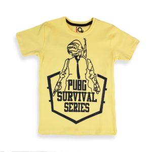 IQ Pubg Series Shirt Yellow