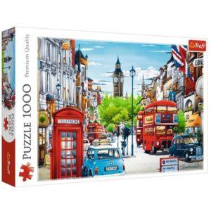 Jigsaw Puzzle London Street 1000 Piece Trefl