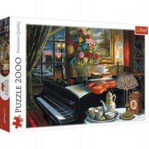 Jigsaw Sounds of Music Puzzle 2000 Piece Trefl