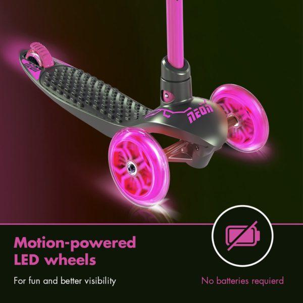 Neon glider-pink