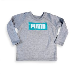 Puma T-Shirt Grey Mint