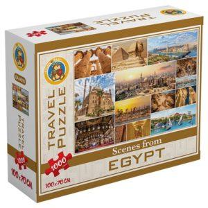 بازل اماكن مصر السياحية 1000 قطعة - فلافي بير