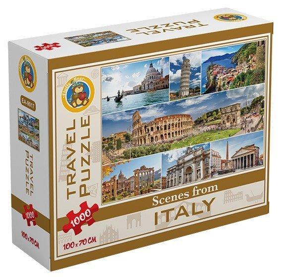 بازل اماكن من ايطاليا 1000 قطعة - فلافي بير