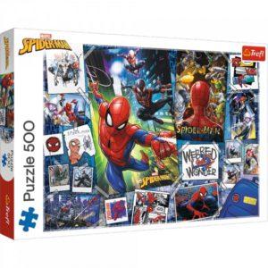 Spider-Man 500 pieces puzzle Trefl