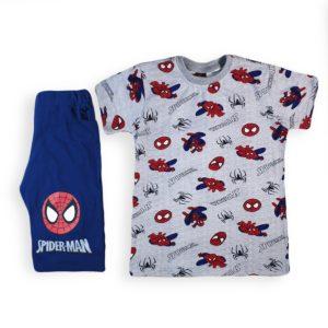 Spider Man Pajama Grey Indigo