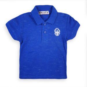Spider Polo Shirt Blue Katy