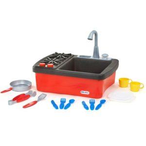 لعبة حوض مطبخ بحنفية مياه للاطفال