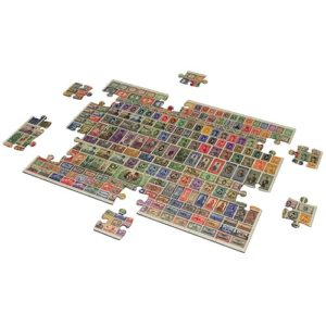 Egyptian Kingdom Stamps – Vintage Egypt puzzle 500 pieces - Fluffy Bear
