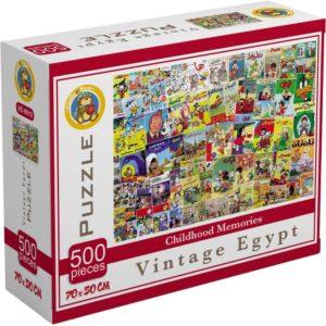 بازل ذكريات الطفولة المصرية 500 قطعة - فلافي بير