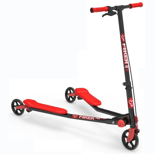 Y Fliker A3 AIR Black and Red