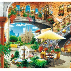 View Of Barcelona Puzzle 2000 pieces Trefl