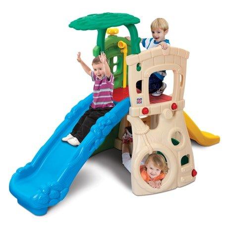 double slide jungle
