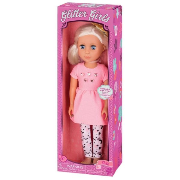 Dolls by Battat - Elula Fashion Doll - Blonde Glitter Girls